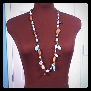sonoma Life + Style Long Beaded Necklace